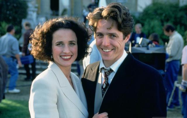 Χιου Γκραντ & Άντι ΜακΝτάουελ ξανά μαζί 22 χρόνια μετά το  Τέσσερις Γάμοι & Μια Κηδεία  [photos]