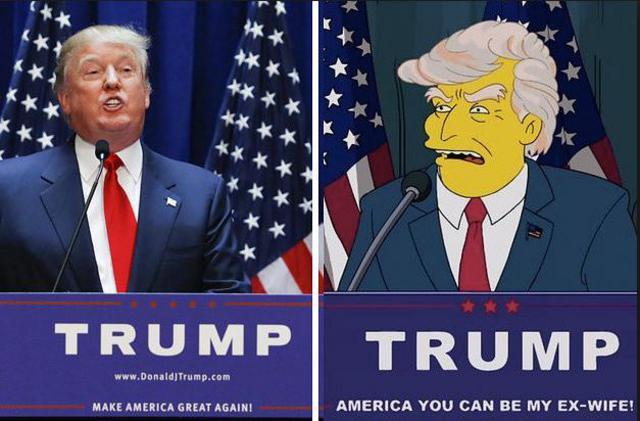 Προφητικό: Οι Simpsons είχαν προβλέψει τη νίκη Τραμπ