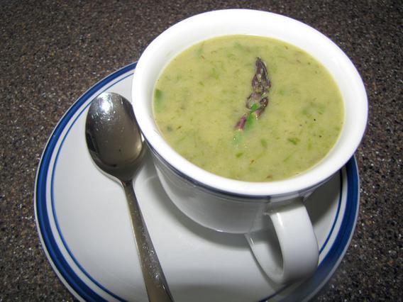 Σούπα από σπαράγγια