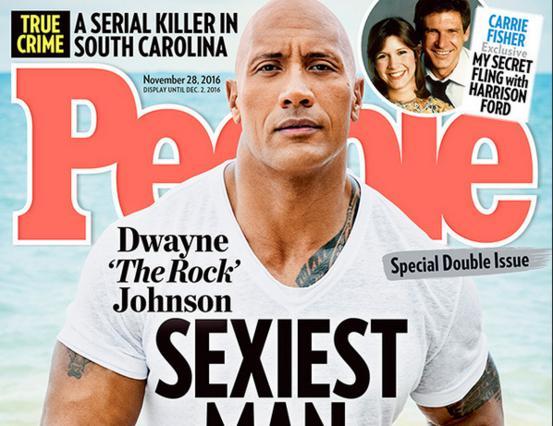 The Rock: Ιδού ο πιο σέξι άντρας για το 2016 σύμφωνα με το People [photos]