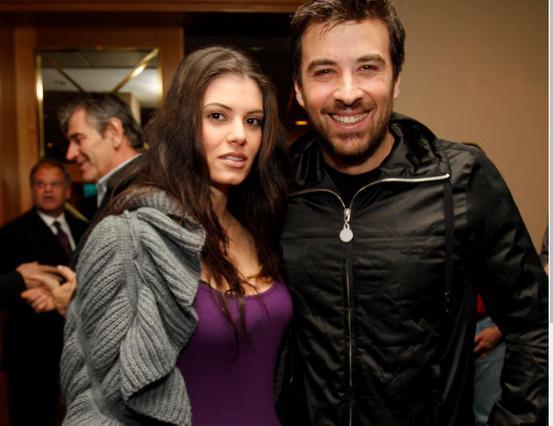 Μαρία Κορινθίου & Γιάννης Αϊβάζης ευχήθηκαν στην κόρη τους με ένα παγώνι! [Photo]