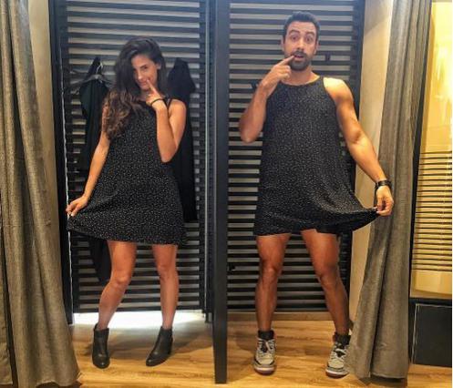 Σάκης Τανιμανίδης & Χριστίνα Μπόμπα: Επιδίδονται σε ομαδικό... «Mannequin Challenge» [vds]