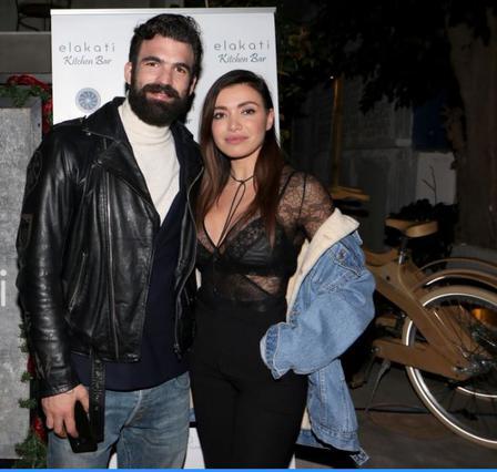 Δημήτρης Αλεξάνδρου - Όλγα Φαρμάκη μαζί σε ξενοδοχείο στη Ρόδο [Photo]