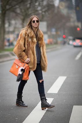 To street style του χειμώνα