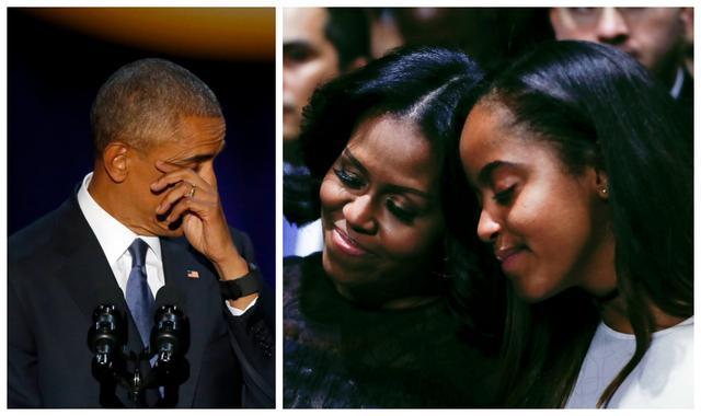 Όταν ο Μπαράκ Ομπάμα δάκρυσε από έρωτα για τη Μισέλ [vds]