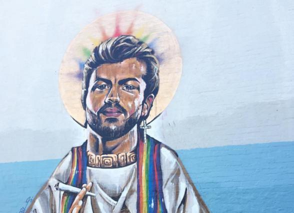 Ο Τζορτζ Μάικλ έγινε Άγιος, προστάτης των γκέι