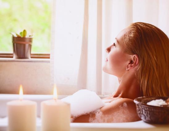 Μυστικά για σούπερ χαλάρωση στο μπάνιο