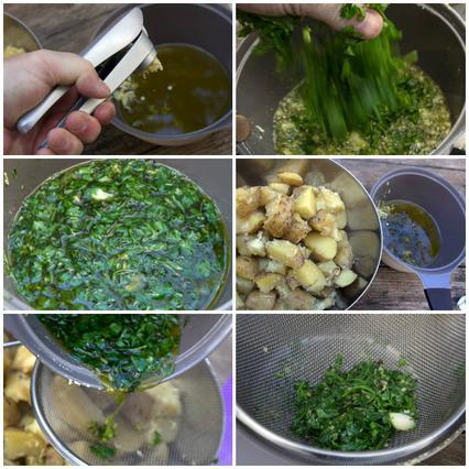 Οι τέλειες πατάτες φούρνου (τραγανές απ' έξω, μαλακές μέσα με ελάχιστο λάδι και αρωματικά) αλ Καρούζο