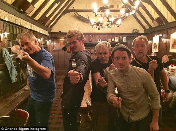 Lord of The Rings: Το Reunion με τα... πηρoύνια [photos & vds]