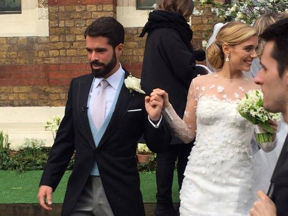 Αυτή είναι η γαμήλια γόβα της Μαριάννας Γουλανδρή που σχολιάστηκε διεθνώς [photo]