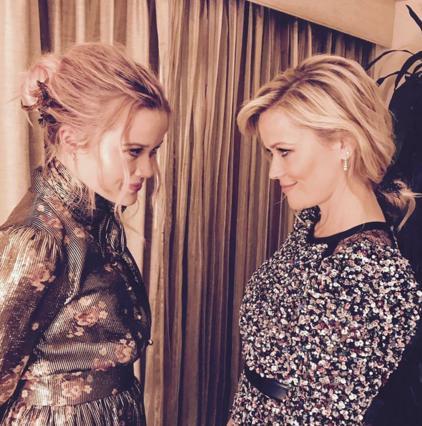 Ρις Γουίδερσπουν και κόρη: Σαν να κοιτάς σε καθρέφτη [photos]