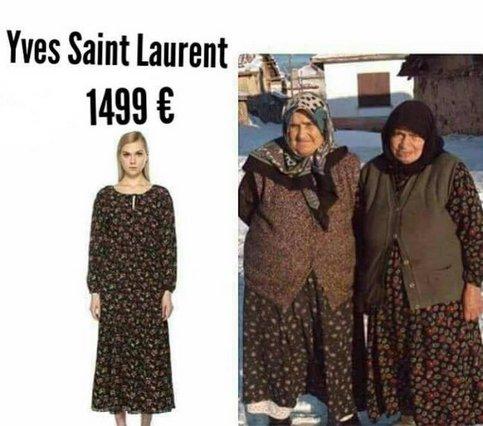 YSL: Όταν οίκοι μόδας αντιγράφουν την Ελληνίδα γιαγιά! Η viral φωτογραφία