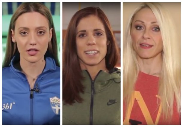 Οι γυναίκες του ελληνικού αθλητισμού στέλνουν το δικό τους μήνυμα για τη δική τους μέρα [vds]