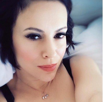 Η Αλίσα Μιλάνο έγινε ξανθιά [photo]