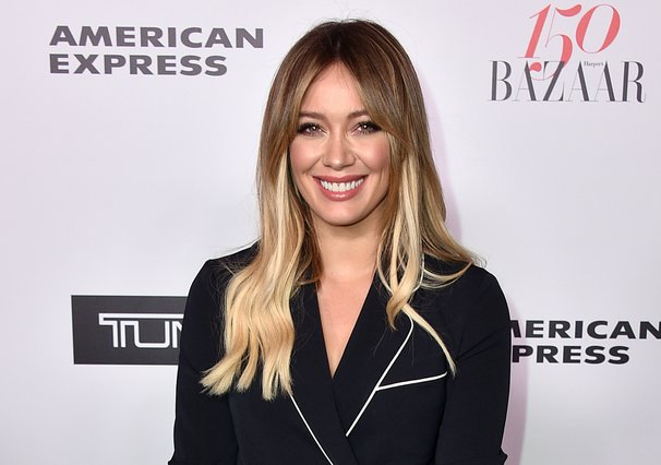 <p><span style= font-size:11px >Hilary Duff (Photo by Jordan Strauss/Invision/AP)</span></p>