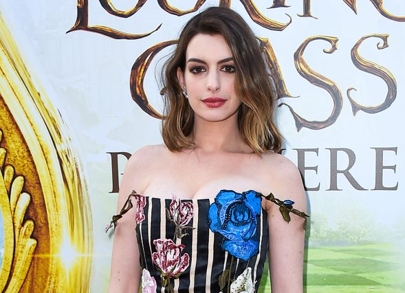 <p><span style= font-size:11px >Anne Hathaway (Photo by Jordan Strauss/Invision/AP)</span></p>