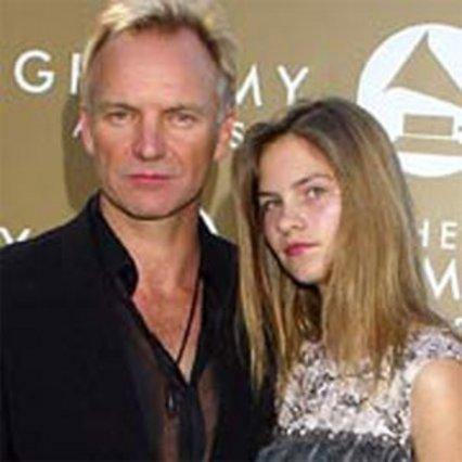 Με τον πατέρα της στα βραβεία Grammy.