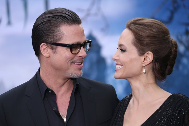 <p><span style= font-size:11px >Brad Pitt and Angelina Jolie (Joel Ryan/Invision/AP) </span></p>