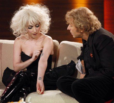 Απλή και άμεση ήταν η Lady Gaga στην τελευταία τηλεοπτική της εμφάνιση