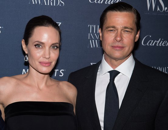 <p><span style= font-size:11px >Angelina Jolie Pitt and Brad Pitt (Photo by Charles Sykes/Invision/AP, File)</span></p>