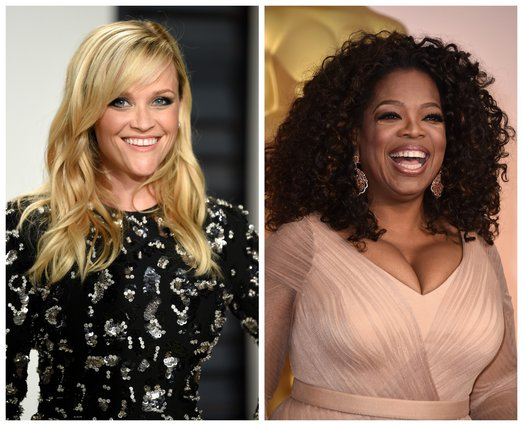 <p><span style= font-size:11px >Reese Witherspoon, Oprah Winfrey (Photo by Evan Agostini & Jordan Strauss/Invision/AP)</span></p>