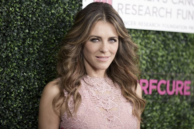 <p><span style= font-size:11px >Elizabeth Hurley (Photo by Richard Shotwell/Invision/AP)</span></p>