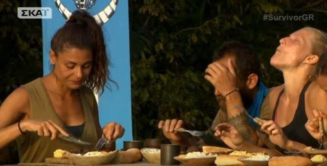 Survivor: Έχασαν & πάλι οι Διάσημοι το έπαθλο φαγητού αλλά ένας έφαγε!