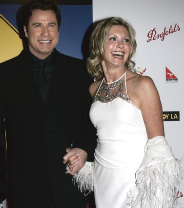 <p><span style= font-size:11px >John Travolta and Olivia Newton-John (AP Photo/Branimir Kvartuc)</span></p>