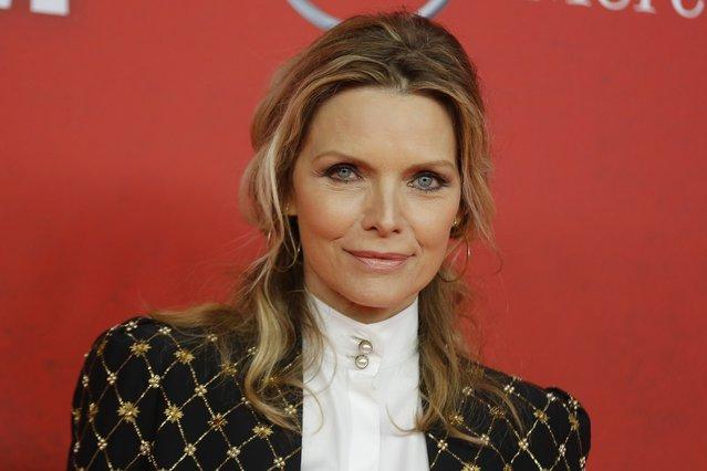 <p>Michelle Pfeiffer (AP Photo/Markus Schreiber)</p>