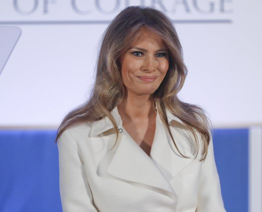 <p><span style= font-size:11px >Melania Trump (AP Photo/Pablo Martinez Monsivais)</span></p>