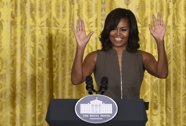 <p>Michelle Obama (AP Photo/Susan Walsh)</p>