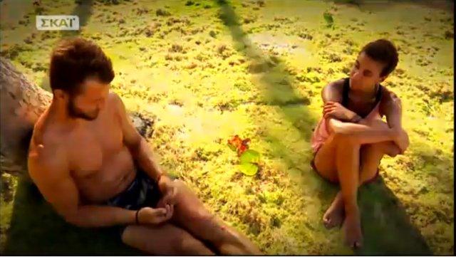 Survivor: Η Ειρήνη Παπαδοπούλου «πλευρίζει» Ντάνο και η Λάουρα σχολιάζει [vds]
