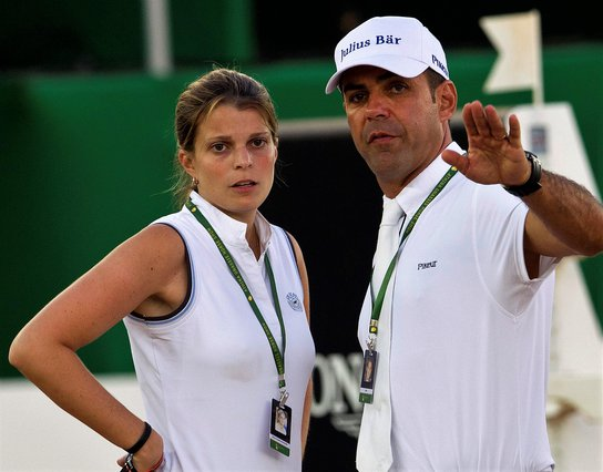 <p>Athina Onassis and Alvaro Doda de Miranda (AP Photo/Silvia Izquierdo)</p>