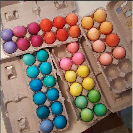 Η Σάρα Τζέσικα Πάρκερ «διαφημίζει» τα πασχαλινά αυγά της [photos & vds]