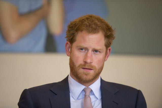 <p>Prince Harry (AP Photo/Matt Dunham, Pool, File)</p>