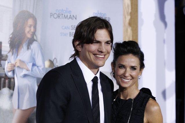 <p>Ashton Kutcher and Demi Moore (AP Photo/Matt Sayles, File)</p>