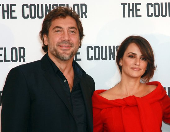 <p>Javier Bardem and Penelope Cruz (Photo by Nathalie Bauer/Invision/AP Images)</p>