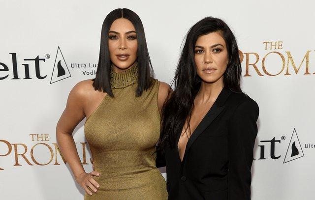 <p>Kim Kardashian West and Kourtney Kardashian (Photo by Chris Pizzello/Invision/AP)</p>