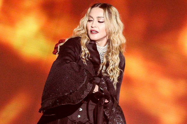 <p>Madonna (Photo by Rich Fury/Invision/AP)</p>
