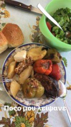 Δεν έχει stop η Ειρήνη Παπαδοπούλου: Το έριξε στο φαγητό