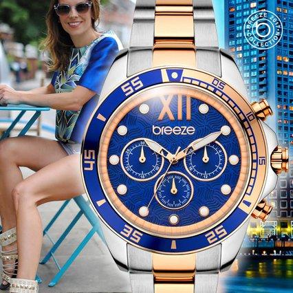 Το cobalt blue είναι ένα από τα χρώματα που θα αγαπήσουμε αυτή τη σεζόν στα ρολόγια BREEZE