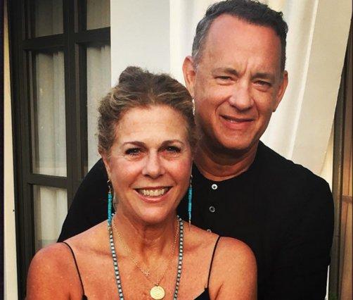 Ρίτα Γουίλσον: Το συγκινητικό μήνυμα στον Τομ Χανκς για την 29η (!) επέτειο γάμου τους [photos]