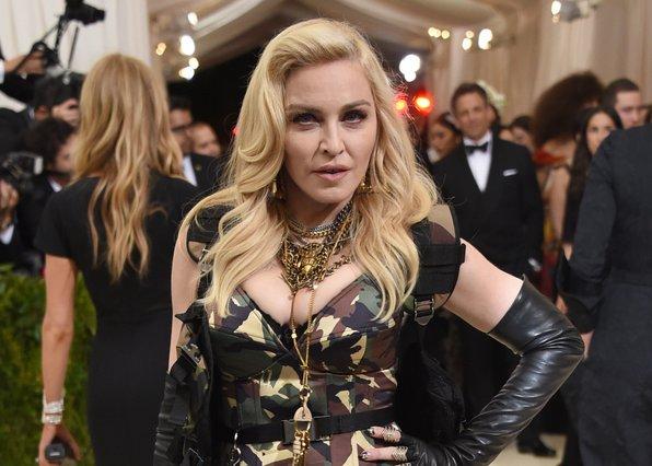 <p>Madonna (Photo by Evan Agostini/Invision/AP)</p>
