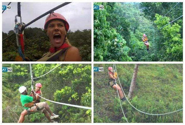 Η Λάουρα φοβάται (;) τα ύψη αλλά έκανε zip line & το διασκέδασε! [vds]