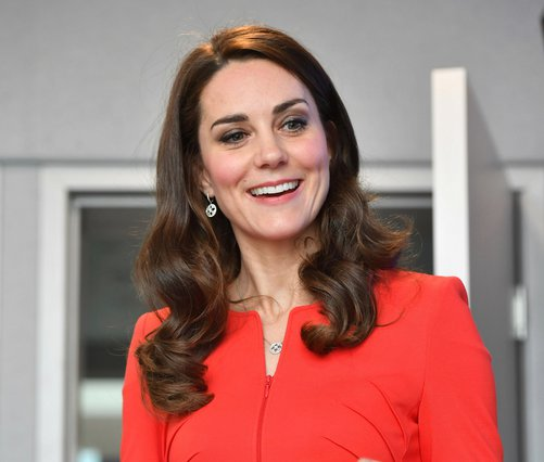 <p>Kate Duchess of Cambridge (Dominic Lipinski/Pool via AP)</p>