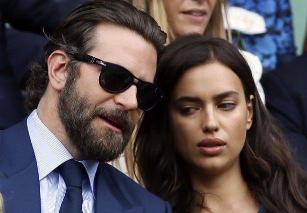 <p>Bradley Cooper, Irina Shayk (AP Photo/Kirsty Wigglesworth, File)</p>