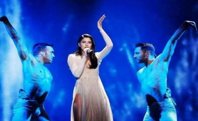 Παραλίγο τραυματισμός για την Demy στην τελική πρόβα της Eurovision
