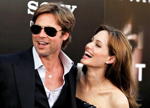 <p>Angelina Jolie and Brad Pitt (AP Photo/Matt Sayles)</p>