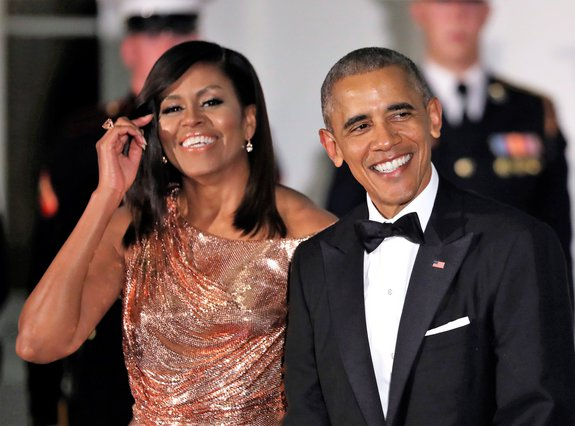 <p>Barack Obama and Michelle Obama (AP Photo/Manuel Balce Ceneta)</p>