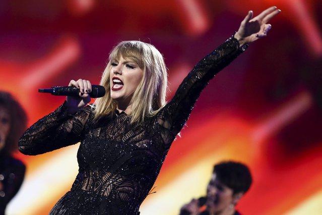 <p>Taylor Swift (Photo by John Salangsang/Invision/AP)</p>